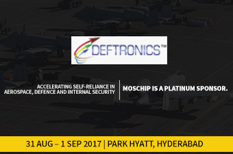 MosChip is the Platinum Sponsor of DEFTRONICS 2017