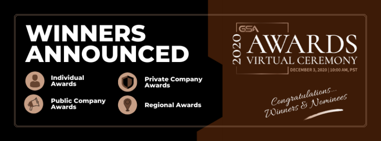 Announced – The 2020 GSA AWARDS Winners