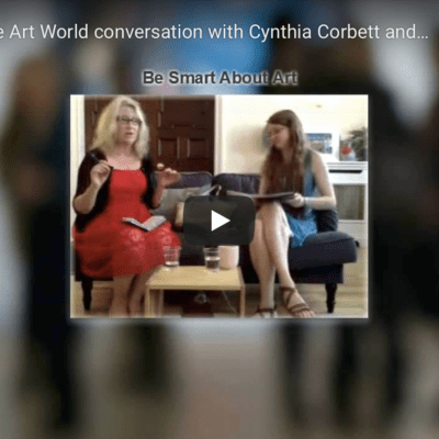 Brexit and the Art World conversation with Cynthia Corbett and Susan Mumford 2016
