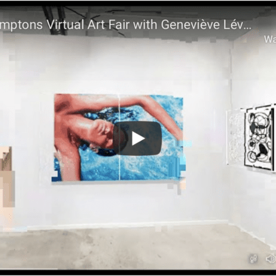 Tour of Hamptons Virtual Art Fair with Geneviève Lévesque, Founder of Artêria Gallery | 4th September 2020
