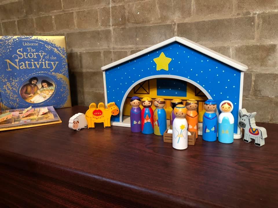 Children's Nativity Toys