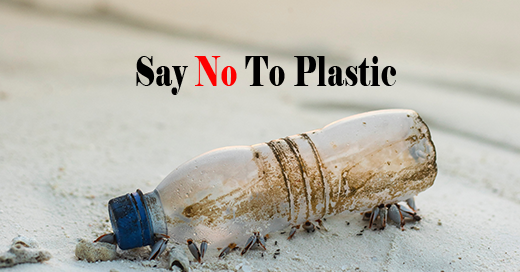 Mandatory ban of plastic use in the UK