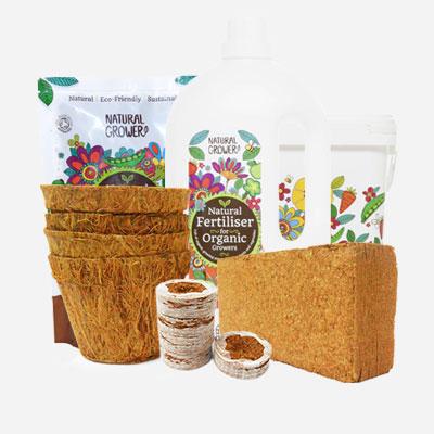 Coco with organic fertiliser