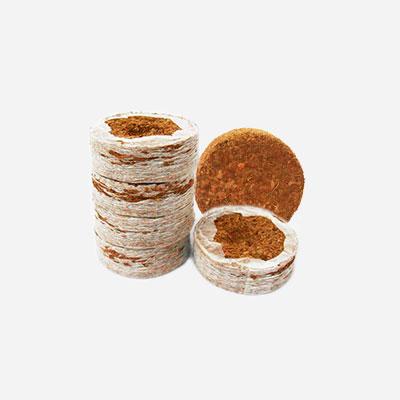 Coir coins