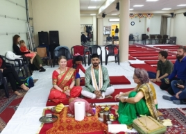 Marriage in Brussels Mandir 13.10.2019