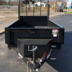 2021 BRI-MAR 5'×10′ DUMP TRAILER LANDSCAPING GATE & D-RINGS-5,000 GVW full
