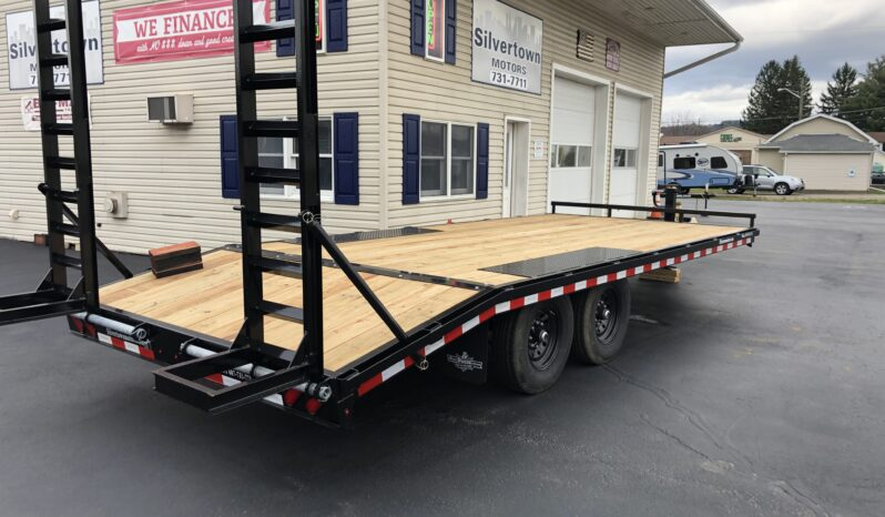 2021-BRI-MAR 101″×20′ DECK-OVER EQUIPMENT TRAILER- 14,000 GVW full