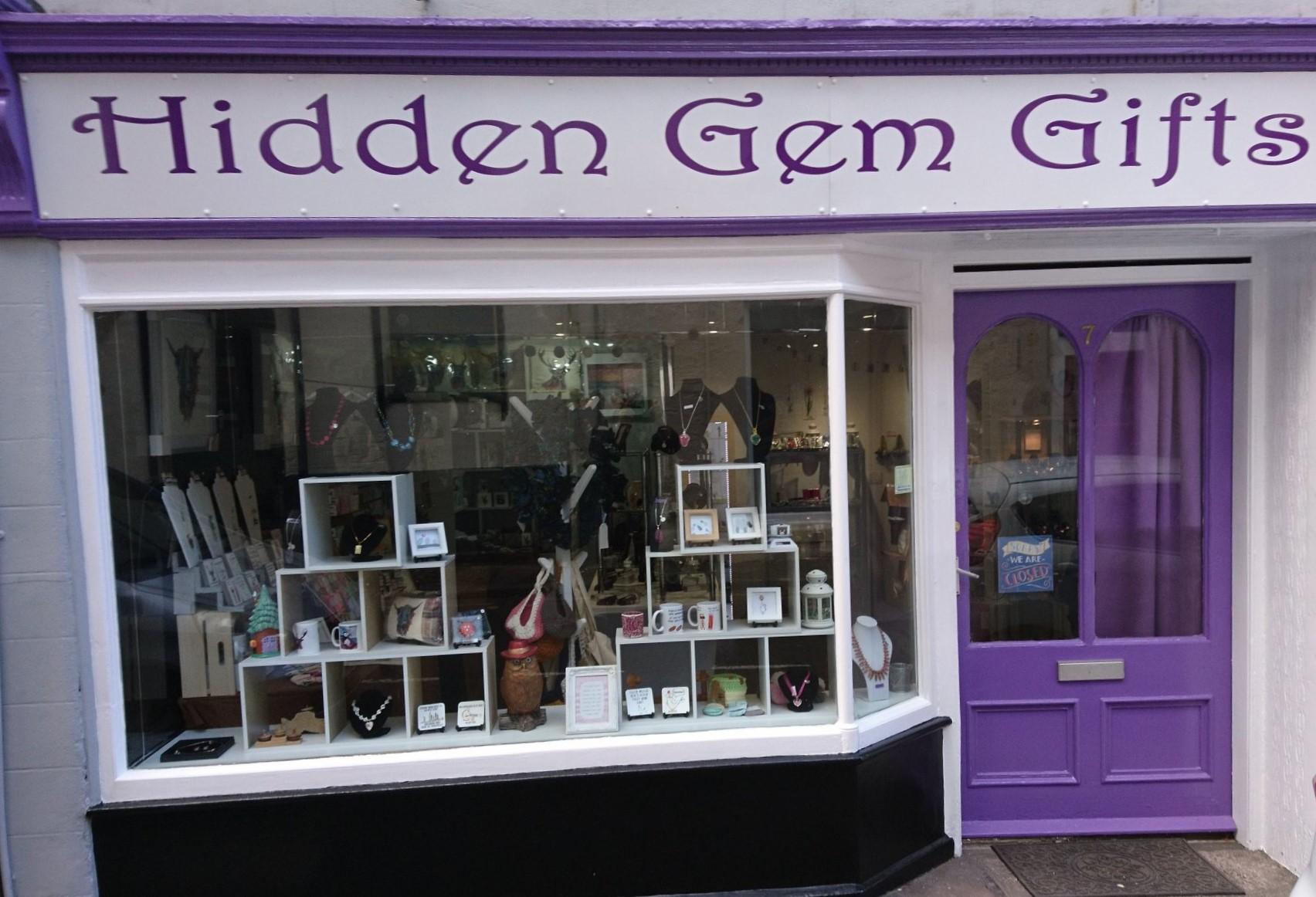 New stockist June 2020. Hidden Gem Gifts Cupar.  Gift shop. Handmade in Scotland.