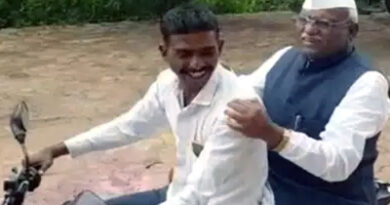 मुंबई: बिना हेल्मेट बाइक पर दिखे महाराष्ट्र के स्पीकर, बोले- जल्दी में था...