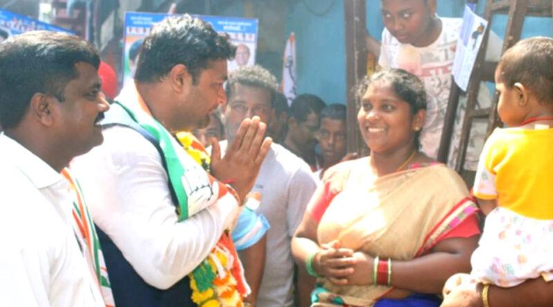 कांग्रेस उम्मीदवार गणेश यादव के लिए परिवार की तरह है दक्षिण भारतीय समुदाय...