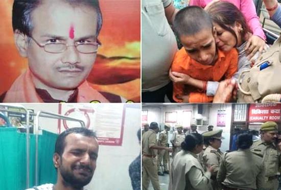 UP: मिठाई के डिब्बे में लाए थे चाकू, CCTV में कैद हुए कमलेश तिवारी के हत्यारे