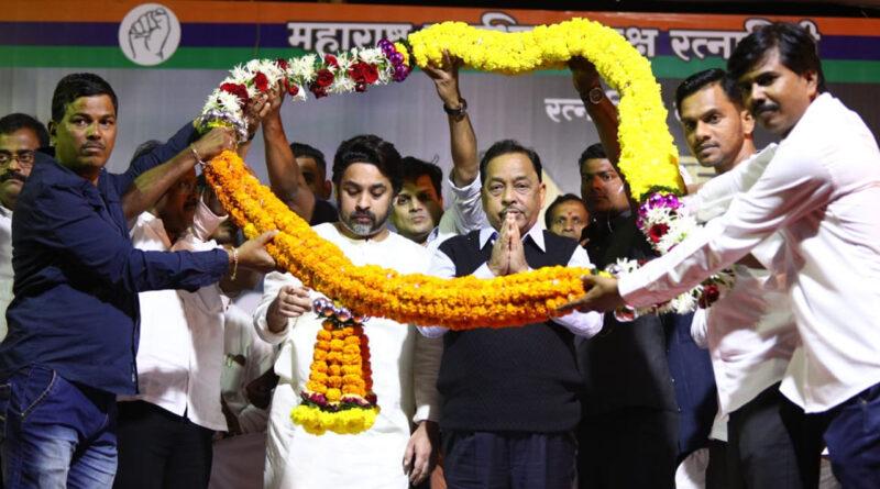 मुंबई: नारायण राणे BJP में हुए शामिल, उनकी पार्टी का भी विलय