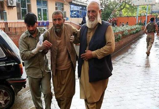 अफगानिस्तान: मस्जिद के अंदर दोहरे विस्फोटों से 62 लोगों की मौत