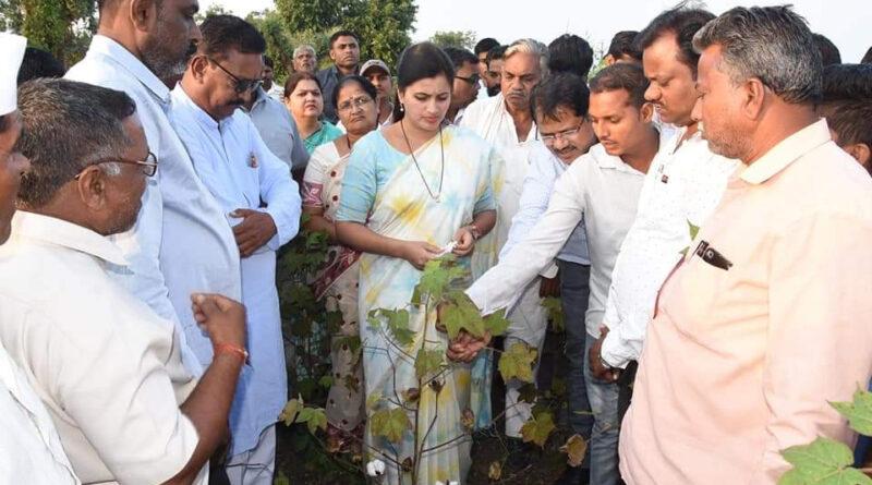 महाराष्ट्र: सांसद नवनीत कौर बोलीं- शिवसेना ने जनता से धोखा किया, किसानों के लिए अपना घर भी जला सकती हूं...