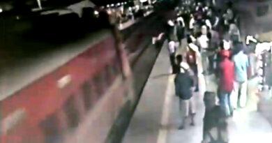 मुंबई: RPF जवान ने जान पर खेलकर बचाई यात्री की जान!