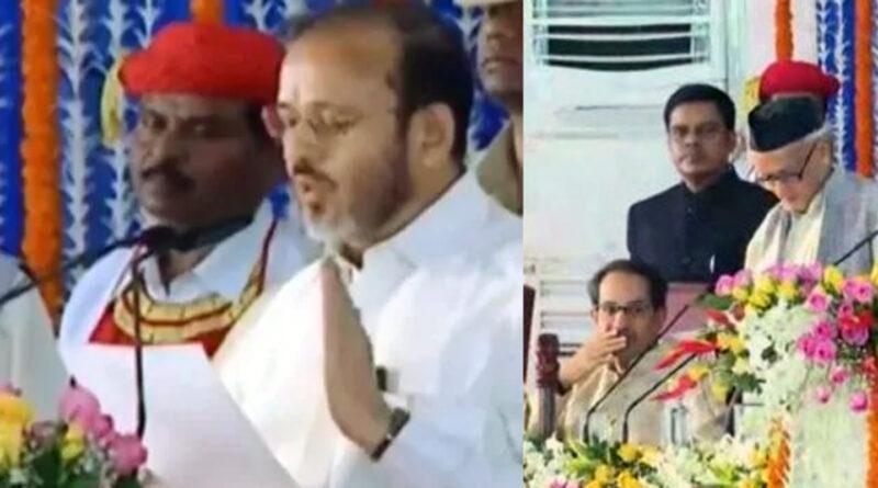 महाराष्ट्र: ठाकरे कैबिनेट विस्तार के दौरान, कांग्रेस के दो मंत्रियों को राज्यपाल कोश्यारी ने लगाई फटकार