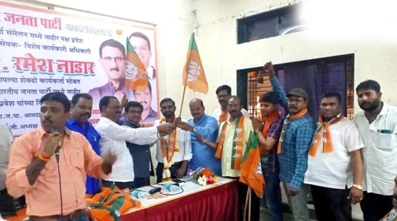 मुंबई: २०० से अधिक शिवसेना कार्यकर्ता बीजेपी में हुए शामिल