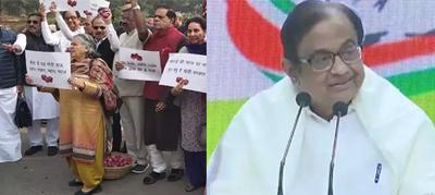 नयी दिल्ली: आर्थिक सुस्ती पर पी. चिदंबरम का मोदी सरकार पर हमला, कहा- आपसे न हो पाएगा