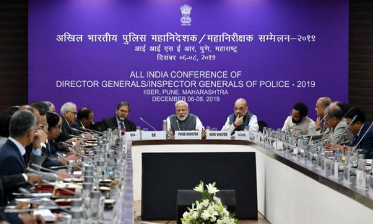 पुणे: DGP और DIGP कॉन्फ्रेंस में शामिल हुए पीएम मोदी और केंद्रीय गृहमंत्री अमित शाह