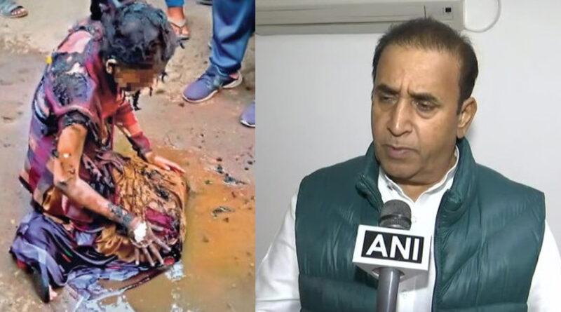 दरिंदगी की शिकार हुई लेक्चरर: इलाज का खर्च उठाएगी सरकार, मुंबई से स्पेशलिस्ट लेकर पहुंचे गृहमंत्री देशमुख