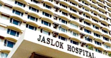 जसलोक अस्पताल की 31 नर्सों और 5 डॉक्टर्स की (कोविड-19) रिपोर्ट पॉजिटिव