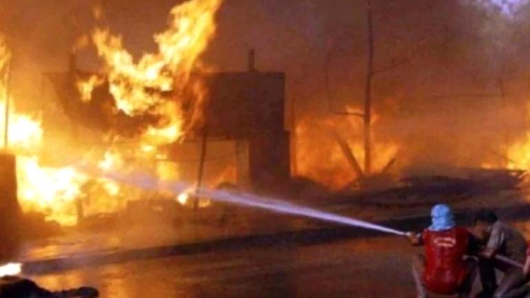 महाराष्ट्र: अकोला में तेल फैक्टरी में आग, कोई हताहत नहीं