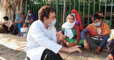..जब राहुल गांधी घर से निकल प्रवासी मजदूरों से मिलने पहुंचे, फुटपाथ पर बैठकर जाना उनका दुःख-दर्द!