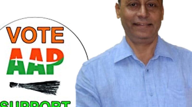 वरिष्ठ पत्रकार द्विजेन्द्र तिवारी 'आम आदमी पार्टी' (AAP) में शामिल