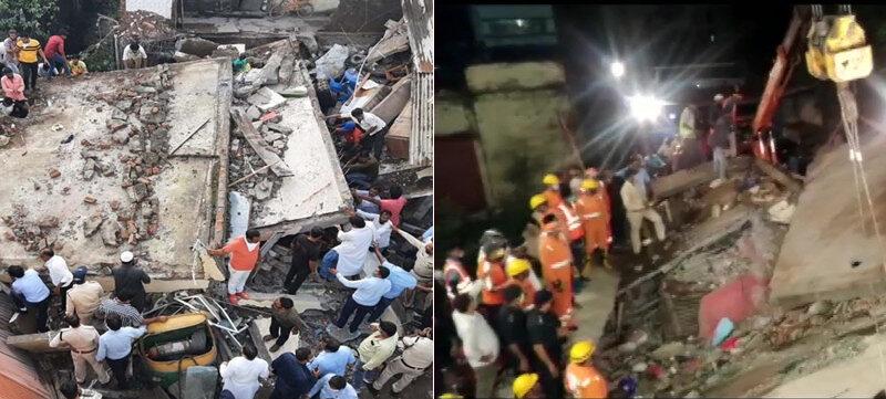 मध्य प्रदेश के देवास में दो मंजिला मकान ढहा, दो लोगों की मौत