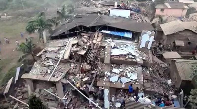महाराष्ट्र: रायगढ़ इमारत हादसे में मरने वालों की संख्या 13 हुई, बिल्डर समेत 5 के खिलाफ केस दर्ज