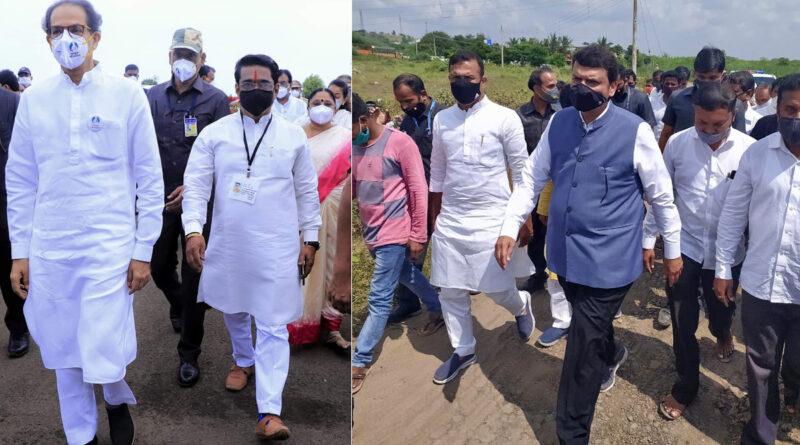 महाराष्ट्र के बाढ़ प्रभावितों पर जुबानी वार: उद्धव बोले- बिहार चुनाव प्रचार छोड़ मदद के लिए साथ आएं फडणवीस