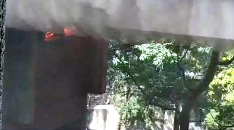 नासिक महापालिका इमारत में आग, किसी के फंसे होने की खबर नहीं, दमकल की गाड़ियां मौके पर मौजूद