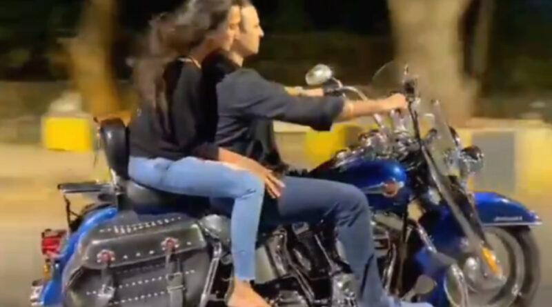 विवेक ओबेरॉय पत्नी के साथ सड़कों पर दौड़ा रहे थे बाइक, कर बैठे यह गलती! पुलिस ने लगाया जुर्माना