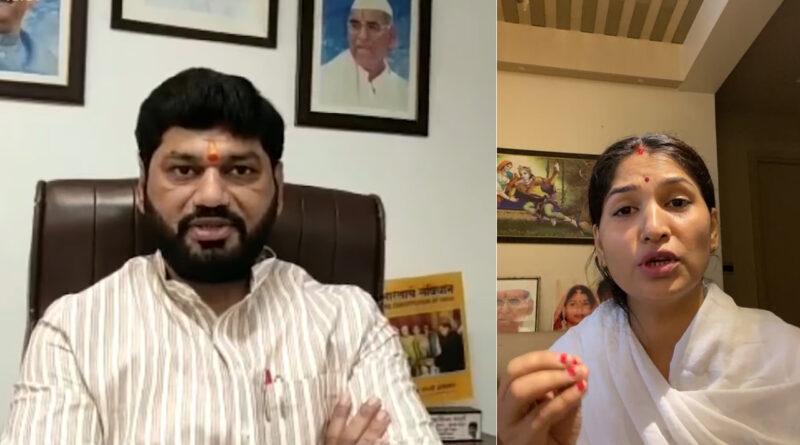 उद्धव सरकार के सामाजिक न्याय मंत्री धनंजय मुंडे की बीवी ने खोली पति की पोल, गिनवाई बेहिसाब सम्पति