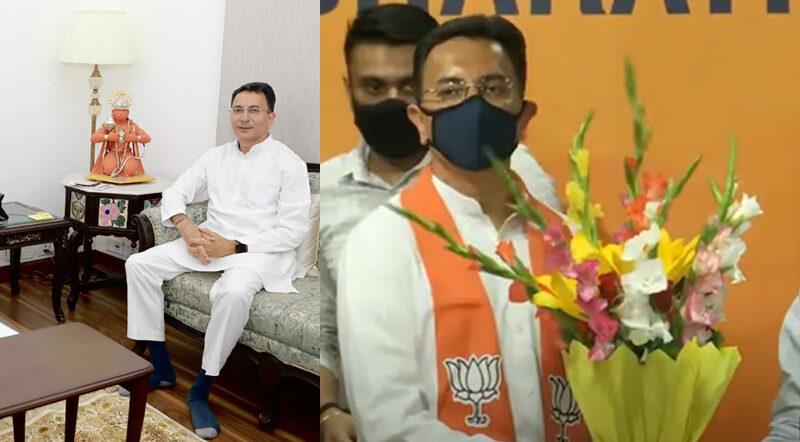 जितिन प्रसाद ने छोड़ा कांग्रेस का हाथ, भाजपा में हुए शामिल, बोले- देशहित में काम करने वाली पार्टी है बीजेपी