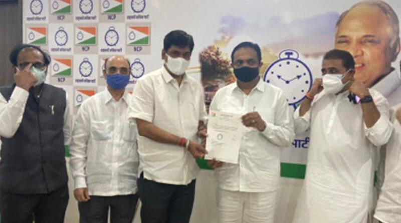 नगरसेवक पेठे को मिली नागपुर एनसीपी की कमान, अब मनपा चुनाव का लक्ष्य