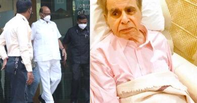 मुंबई: दिलीप कुमार से मिलने हिंदुजा अस्पताल पहुंचे शरद पवार, बोले- जल्द ठीक होंगे दिग्गज