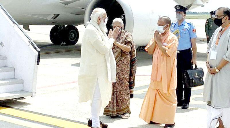 प्रधानमंत्री नरेंद्र मोदी आज वाराणसी के दौरे पर हैं