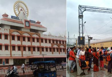 वाराणसी कैंट स्टेशन पर बनेगा स्काईवाक, यात्रियों को मिलेगी विश्वस्तरीय सुविधा