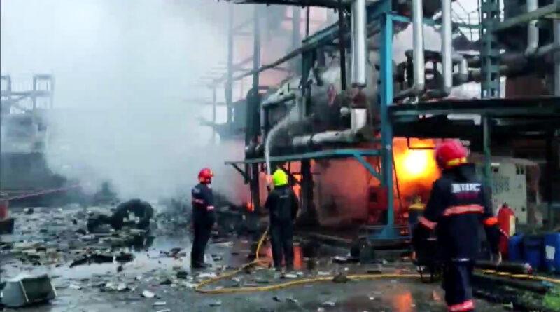महाराष्ट्र: बोईसर की फैक्ट्री में धमाके के बाद लगी भीषण आग, चार जख्मी...एक शव बरामद!