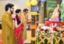 गणेश चतुर्थी उत्सव: महाराष्ट्र के पूर्व सीएम, विपक्ष के नेता देवेंद्र फडणवीस ने घर पर की गणपति की पूजा