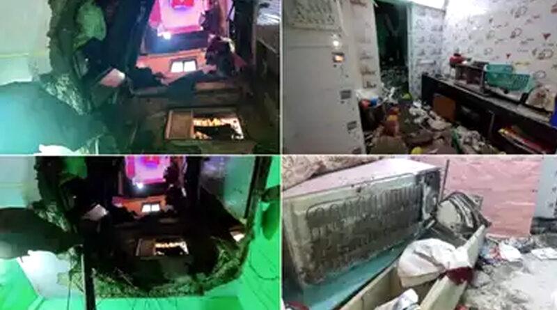 ठाणे में 25 साल पुरानी इमारत का स्लैब गिरने से दो लोगों की मौत! एक घायल