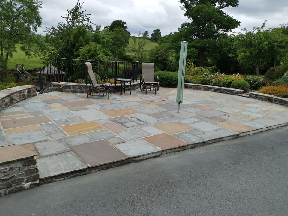 patio installation welshpool - RDE Services