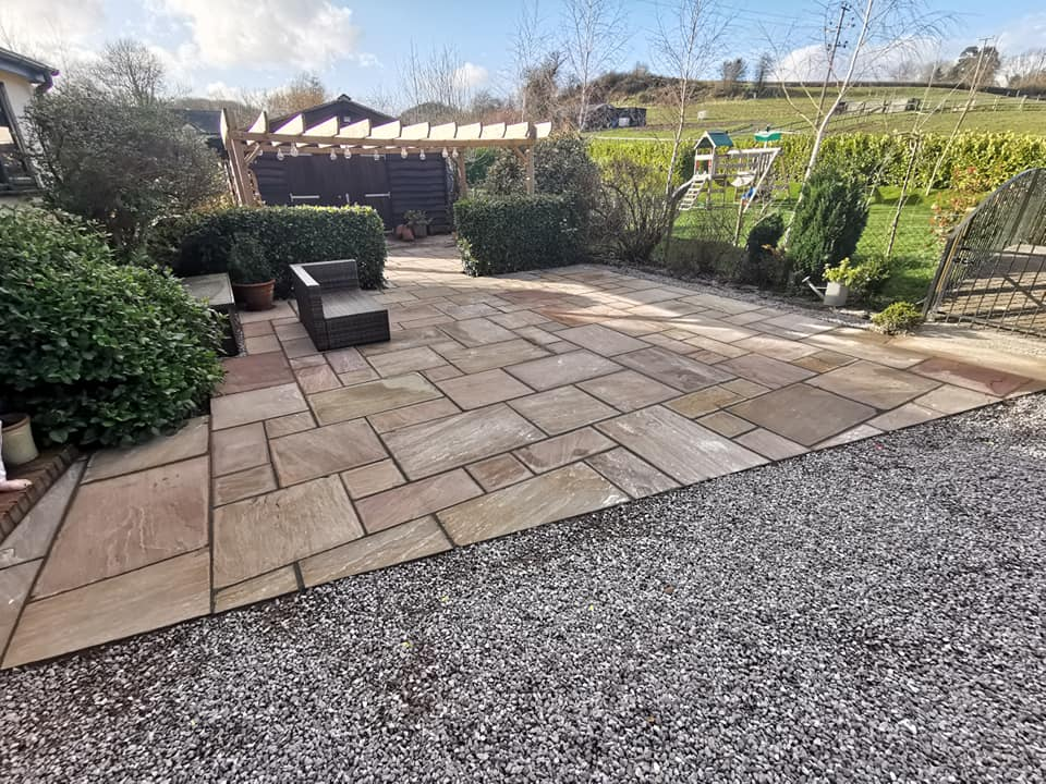 Landscapes, Patios & Gardens in Welshpool - RDE Services