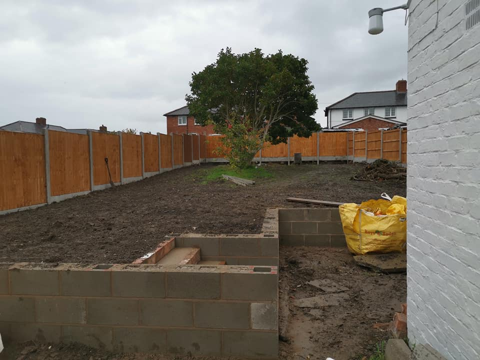 Landscaping in Welshpool - RDE Services