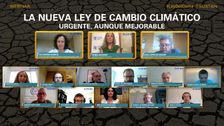 NUEVA LEY DE CAMBIO CLIMÁTICO