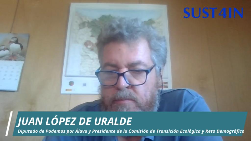 Juantxo López ley de cambio climatico y transicion energetica