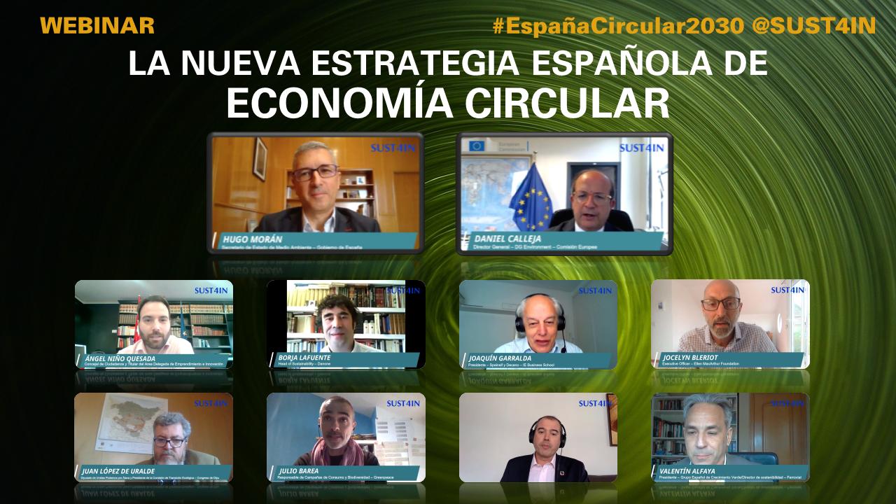 Webinar La Nueva Estrategia Española de Economía Circular