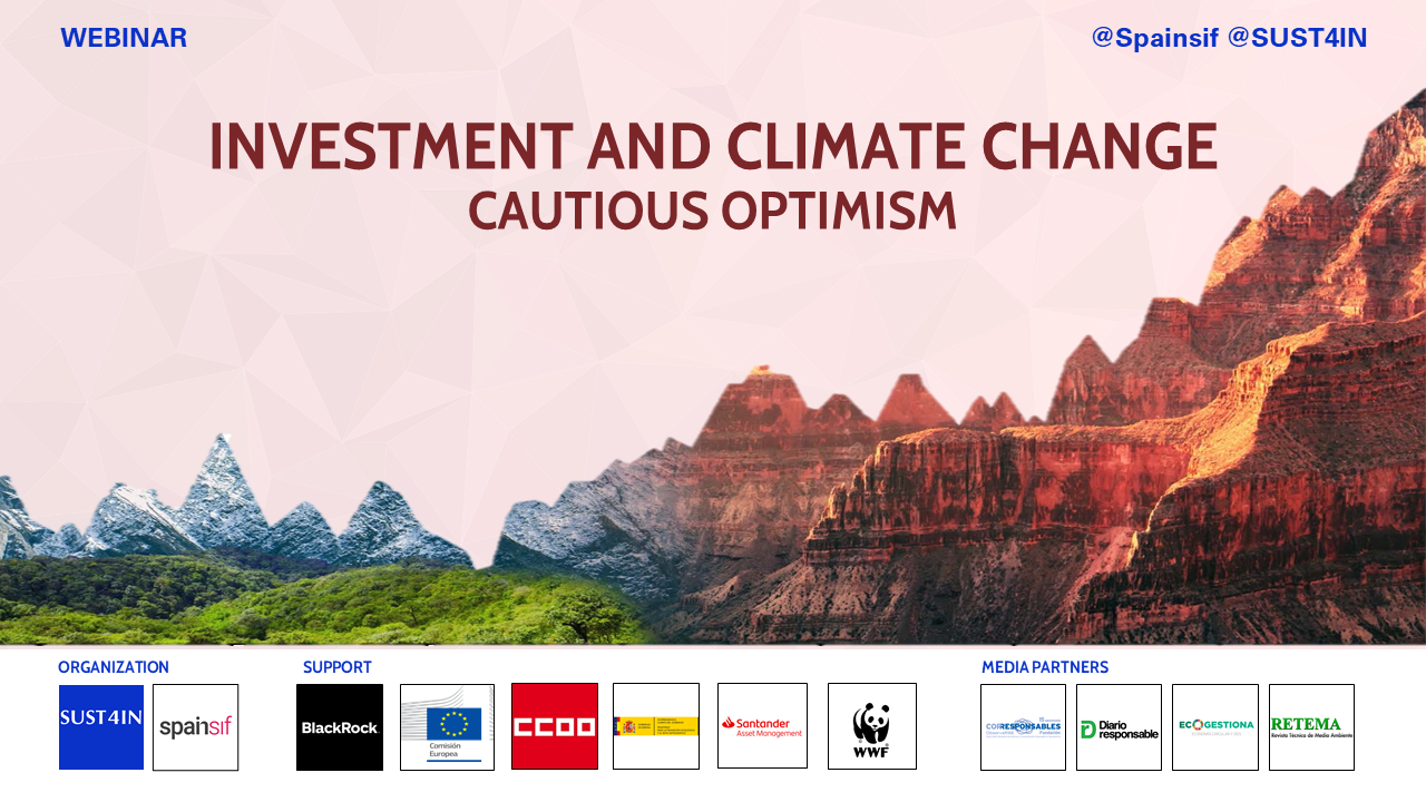 Investment and climate change: cautious optimism