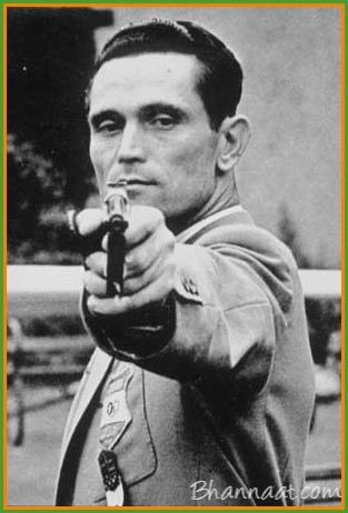 """BMV-21 The man with the only hand – """"KAROLY TAKACS"""""""